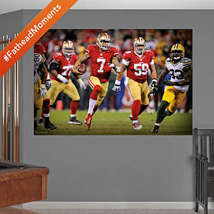 Colin Kaepernick: 2013 NFL Playoff Rush Mural Fathead Wall Decal